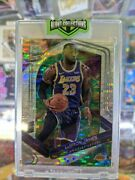 Lebron James 2019-20 Panini Spectra Celestial /99 Jersey Number Lakers Ssp