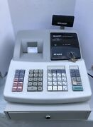 Sharp Electronic Cash Register Model Xe-a203 With Instructions -good Condition