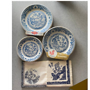 Salvaged Disposable Service Ware Blue Willow