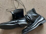 Black Combat Boots Vietnam Era Unissued Boots Charles A Eaton Company Dated 1966