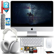 Apple 21.5 Imac Bundle With Airpods Max Editing Software And Extra Warranty