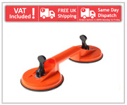 Heavy Duty Dual Strong Suction Double Cup Window Glass Mirror Lifter Dent Puller