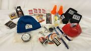 Lot Of Beer Swag Misc Playing Cards Watches All New Mixed