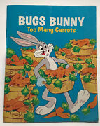 Bugs Bunny Too Many Carrots By Jean Lewis 1976 Paperback Book
