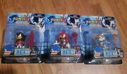 Sonic X Metal Force Action Figure New Sealed Collectible Knuckles-tails-shadow