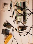 11+ Used - Weller Soldering Stations And Soldering Pencils And Parts