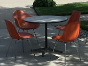 1970's Original Herman Miller Eames Mid Century Modern 4 Chair And Table