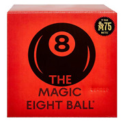 Magic 8 Ball Mattel 75th Anniversary Fortune-telling Novelty Toy With Floatin...