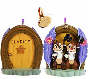 2014 Chip 'n Dale Disney Store Sketchbook Christmas Ornament Chip And Dale New