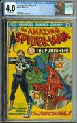 Amazing Spider-man 129 Cgc 4.0 Ow Pages // 1st App Of The Punisher 1974
