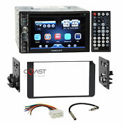Concept Dvd Usb Bluetooth Stereo Dash Kit Harness For 1995+ Gmc Cadillac Chevy