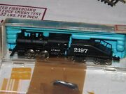 Vintage Rivarossi N Scale Sante Fe Steam Switcher 0-4-0 And Tender - Free Track