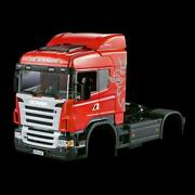 1/14 Rc Hercules Scania Body Midtop Cabin Tractor Truck Painting Car Shell 801b