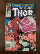 The Mighty Thor 411 Marvel Comics Newsstand 1st App New Warriors Night Thras