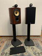 Bandw Bowers And Wilkins 805s W/ Stands 1 Tweeter Needs New Cone They Work Great