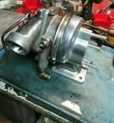 Corvair 150 Hp Turbocharger With Ceramic Coated Housing And Exhaust Pipe