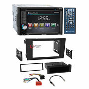 Planet Audio Dvd Camera Input Stereo Dash Kit Bose Harness For 2000-03 Audi A6
