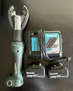 Greenlee El425lxd011 6 Ton Crimping Tool Set With 2 Makita Battery And Charger