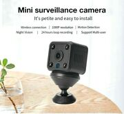 Wifi Hd Mini Camera Baby Monitor Video Recorder Camcorder Dvr Motion Detection