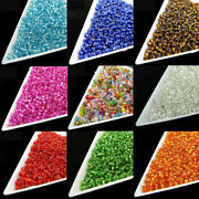 800pcs 2mm Round Faceted Crystal Czech Glass Spacer Beads Diy Jewelry Making