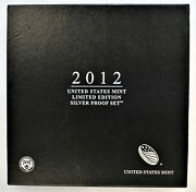 2012 Limited Edition Silver Proof Set - Ogp