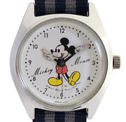 Seiko Disney Time Mickey Mouse Ladies Watch 5000-7000 Manual Winding Used
