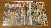 Blood Syndicate Comic Lot 9 Issues Dc Milestone 1 2 3 4 5 6 7 8 - Signed 1548