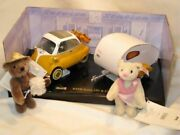 2008 Germany Limited Model Bmw Isetta And Camper Bear Set Vacation Style Unused