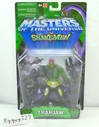 Motu Trap Jaw Green 200x Masters Of The Universe Moc Carded Sealed Figure
