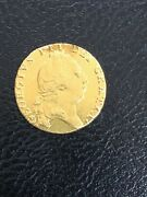 1794 Great Britain Uk King George Iii Antique Old Gold Guinea Coin