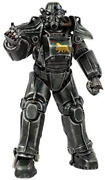 Threezero Fallout 1/6 T-45 Ncr Salvaged Power Armor Action Figure From Japan New