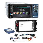 Planet Audio Dvd Camera Input Stereo Dash Kit Bose Harness For Gm Chevy Pontiac