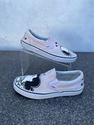 Peanuts Lucy Snoopy Smack Charlie Brown Slip-on Shoes Wmns 9 Mens 7.5