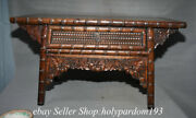 24.8 Old Chinese Huanghuali Wood Dynasty Storage Drawer Table Desk