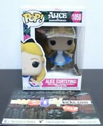 Funko Pop Disney Alice In Wonderland Curtsying 1058 Limited Edition Collectible