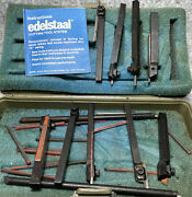 Edelstaal Bit Lot Used - For Unimat Lathes Lot