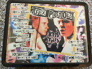 Sex Pistols Collectible Metal Lunch Box W/ Thermos 2003 Neca Limited Edition