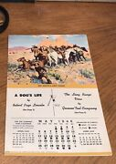 1945 Genesee Tool Company Jed Smith Last Stand Western Booklet Rare File Copy