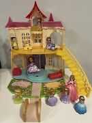 Sofia The First Magical Castle Working Sounds Figures Lot