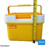 Thermos Land039il Sunpacker Cooler 7710 Tailgate Beach 6.5 Qt Made Usa Vintage