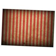 Evil Halloween Circus Carnival Backdrop For Festival Red And White 7x5ft