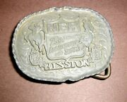 Viintage Hesston 1983 Youth Small Nfr Cowboy Belt Buckle National Finals Rodeo