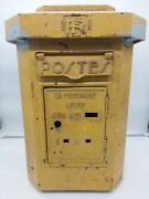 Vintage 1930s French Post Office Letter Box / Post Box Wall Box Royal Mail Fpb5
