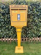Vintage 1960s French Post Office Letter Box / Post Box Wall Box Royal Mail Fpb6