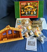 Fisher Price Little People Deluxe Christmas Story Nativity Light And Sound Nib