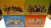 Lego Minifigures Series 1 - 4 8683 8684 8803 8804 4 Boxes Of 60 Each Retired