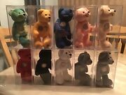 1999-2000 Authentic Collectible Quarter Bears 10 Total