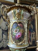 Beautiful Victorian Hinks And Sons Porcelain Sevres Bronze Antique Electric Lamp