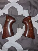 Smith And Wesson Rosewood Presentation N Frame Grips Square Butt