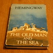 Ernest Hemingway The Old Man And The Sea 1952 1st Ed Book Club Scribner W Print
